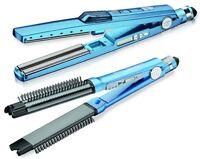 BaByliss BABNTPP17 Pro Nano Titanium Ultrasonic Cool Mist Iron + Omni Styler