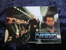 Flightplan lobby cards/stills - Jodie Foster - german set of 8
