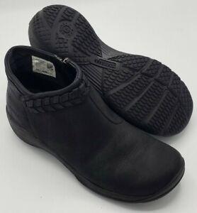 Merrell Women's Encore Braided Bluff Q2 Boots Black Size 7 M US J94620