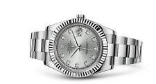 Armbanduhren aus Edelstahl mit COSC-zertifiziertem Chronometer für Erwachsene