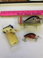GROUP LOT OF 3 PRE RAPALA WIGGLE WART VINTAGE FISHING LURE LURES MINT NEW IN BOX