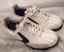 Calloway, Boys Golfing Shoes, Sz 4M, White, Leather, Lace-Up