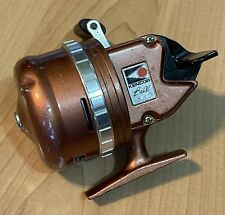 Vintage Kencor Orange Fishing Reel, closed Bell 380 face spinning very rare!🎣