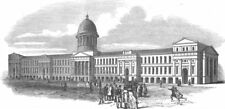 CANADA. The New market Montreal, in which the Parliament Now sit, print, 1849