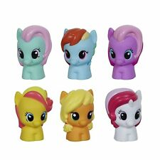 Playskool My Little Pony 3 x 2 Packs Rainbow Dash Minty Applejack Moon Dancer