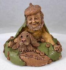 #2 Signed Tom Clark & Tim Wolfe Gnome Pup Tent #5380 Cairn Studios 3""