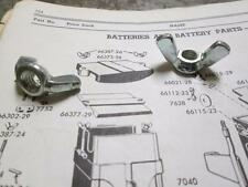HARLEY KNUCKLEHEAD PANHEAD BATTERY COVER WING NUTS