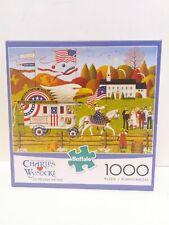Buffalo Games Charles Wysocki 1000 Piece Jigsaw Puzzle So Proudly We Hail