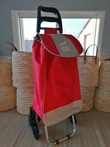 Chariot de courses - pliable 6 roues - Escalier trottoir shopping caddie marché
