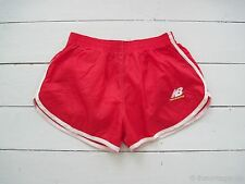 NOS OG 1980s Shiny NEW BALANCE NYLON SHORTS Sprinter Beach Runner Gay Adidas Vtg