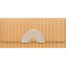 Brand New Authentic OROTON BAUX WOVEN CLUTCH WALLET RRP$245