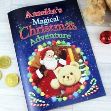Personalised children's story Magical Christmas Adventure Story Book Xmas Gift