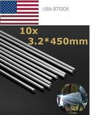 10pcs 450mm Aluminum Alloy Silver Welding Rods Tools For Cracks Polish and Paint