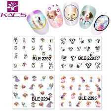 11 Sheets Cute Dog Nail Art Sticker Nail Manicure Decal Decoration BLE2292-2302