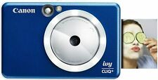 Canon IVY CLIQ+ 8MP Instant Camera Printer - Sapphire Blue