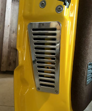 88-98 Silverado, Suburban, Sierra billet cab door vents, slotted style