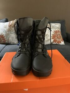 """Mens Nike SFB Jungle 8"""" Brown/Olive Special Field Boots #631372222 Size 12 M"""