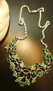 Vintage 1970s  Enamel Necklace