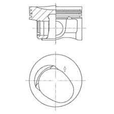 Kolben - Kolbenschmidt 41257600