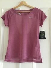 Ladies NIKE BREATHE Running Top Size X/Small
