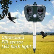 Mole Repellent Solar Power Eco-Friendly Ultrasonic Pest Animal Bird Cat Repeller