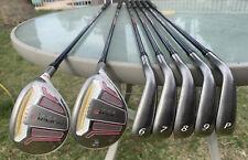 Adams Golf Idea Super S Iron Set 4h, 5h, 6-PW Ladies Flex Right Handed RH