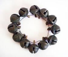 """Antique Embossing No.1 Brass Bell, All Diameter 1 """". 12 Bells"""