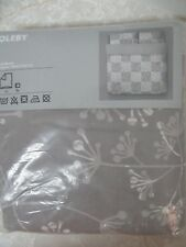 Ikea Oleby Duvet Cover and 2 Pillowcases  Full Queen F/Q New Sealed Bedding