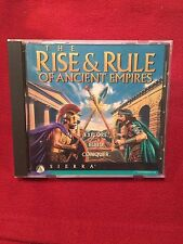 The Rise & Rule Of Ancient Empires PC Video Game CD