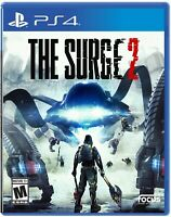 PLAYSTATION 4 PS4 VIDEO GAME THE SURGE 2 BRAND NEW AND SEALED