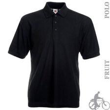 Camicie casual e maglie da uomo nere taglia 38