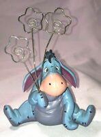 "Disney Eeyore 3 Clip Picture Photo Holder Frame Winnie The Pooh 6.25x5"""