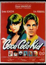 affiche du film COCA COLA KID 120x160 cm