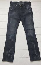 Mavi size 28 x 34 women's jeans Molly Straight Distressed With Paint Detail