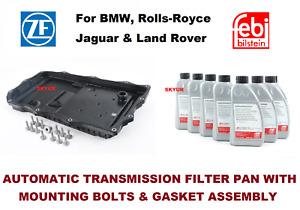 BMW Auto Trans Oil Pan Filter Kit & 7-Liter Fluid F07 F10 F06 F12 F01 X4 X5 X6