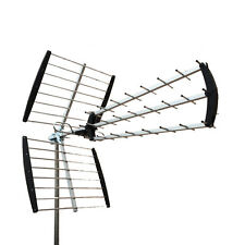 180 Mile HDTV Outdoor Amplified HD TV Antenna Digital UHF/VHF FM Radio XJ-450C