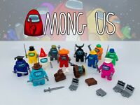Among Us Minifigures Custom Sets