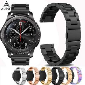 Edelstahl Armband Ersatz Uhrenarmbänder Für Moto 360 Fossil Q Smart Watch DE