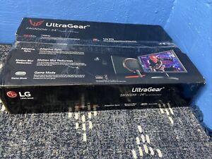 LG 24'' UltraGear FHD 144Hz 1ms Gaming Monitor Freesync 24GN50W-B