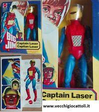 Mattel Big Jim personaggio Capitan Laser Captain Laser 1980 MIB