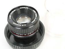 Minolta C.E. ROKKOR 50mm 1:2,8 2,8/50 Vergrößerungsobjektiv Enlarger Lens + Plex