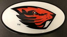 Hitch Cover - Oregon State WHITE - Fighting Beaver
