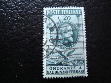 ITALIE - timbre yvert et tellier n°560 obl - stamp italy (A1)