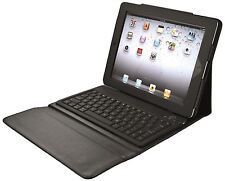 NEW TRUST COMPACT IPAD2 NEW IPAD FOLIO WITH BLUETOOTH UK KEYBOARD & STAND, 17836
