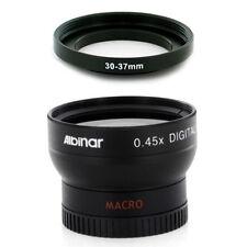 30mm Wide Angle Lens + Macro for Sony DCR-SR82,DCR-SR82E,DCR-SR85 camcorder