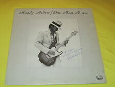 Rare Private Smooth Funk Soul Boogie LP: Randy Hebert - One Man Music