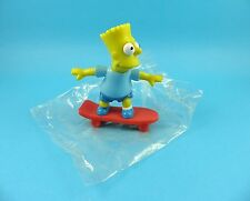 Bart Simpson on Skateboard - Early Licensed Simpsons Figure 1990 - Mint in Pack