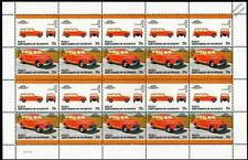 1948 FORD WOODIE Station Wagon Car 20-Stamp Sheet Auto 100 Leaders of the World