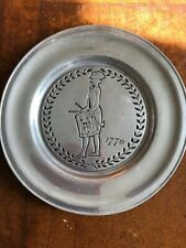 New listing 1776 Pewter Plate Wilton