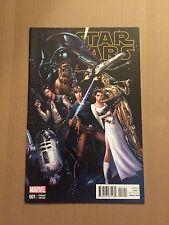 Marvel Comics STAR WARS # 1 J. Scott Campbell Variant 1:50